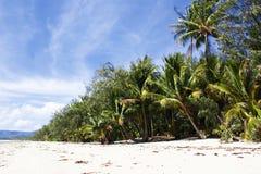 澳洲。 Port道格拉斯。 4英里海滩 免版税库存图片
