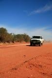 澳洲中心沙漠越野红色 免版税图库摄影