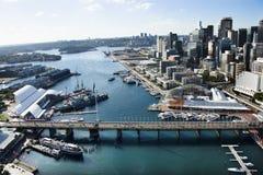 澳洲亲爱的港口 免版税库存照片