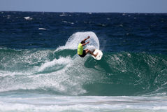 澳洲冲浪 免版税库存图片