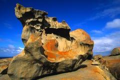 澳洲卓越的岩石 免版税图库摄影