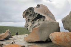 澳洲卓越的岩石 免版税库存图片