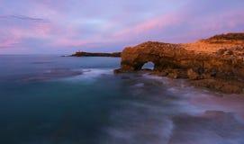 澳洲南海岸线的长袍 免版税库存图片