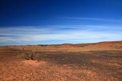 澳洲在内地中心红色 库存照片