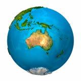 澳洲地球行星 免版税图库摄影