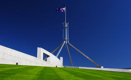 澳洲堪培拉房子议会 免版税图库摄影