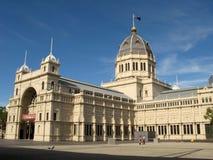 澳洲大厦陈列皇家的墨尔本 免版税库存图片