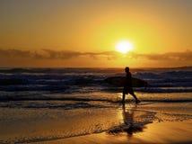 澳洲天堂冲浪者 库存图片