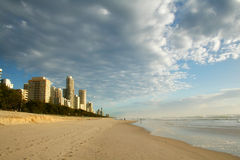 澳洲天堂冲浪者 库存照片