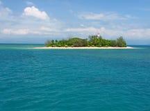 澳洲小岛低昆士兰 免版税库存照片