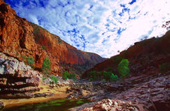 澳洲峡谷 免版税库存照片