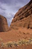 澳洲峡谷walpa 免版税图库摄影