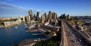 澳洲市地平线悉尼 免版税库存图片