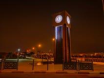 澳洲市时钟大厅找出珀斯西部塔的城镇 免版税图库摄影