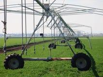 澳洲庄稼灌溉系统 免版税库存图片