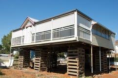 澳洲房子昆士兰上升 免版税库存图片