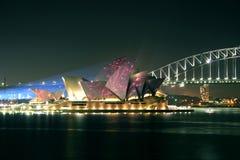 澳洲房子歌剧悉尼 免版税库存照片