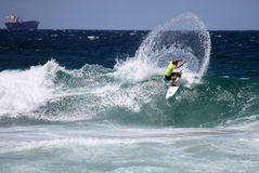 澳洲新堡专业人员冲浪者 免版税库存照片