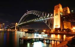 澳洲桥梁港口悉尼 库存图片