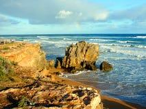 澳洲海岸线维多利亚 免版税库存照片