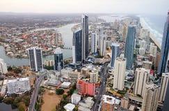 澳洲海岸金子 库存图片