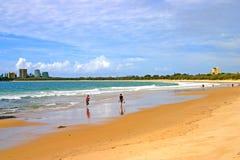 澳洲海岸阳光 免版税库存照片