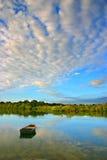 澳洲海岸noosaville阳光 库存图片