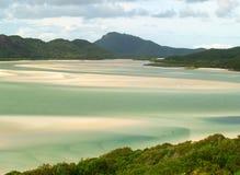 澳洲海滩天堂 免版税图库摄影