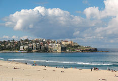 澳洲海滩bondi 库存照片