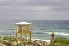 澳洲海滩elouera悉尼 库存照片