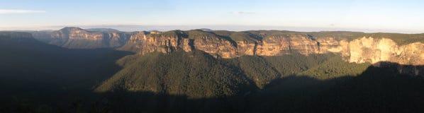 澳洲蓝色山国家公园科教文组织 库存照片