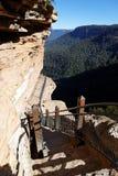 澳洲蓝色山 库存图片