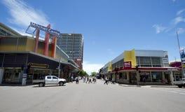 澳洲达尔文街道 库存图片