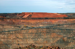 澳洲金矿 库存图片