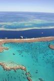 澳洲障碍极大的昆士兰礁石 免版税图库摄影