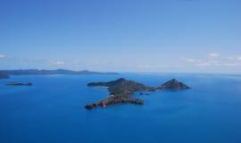 澳洲障碍极大的礁石 图库摄影