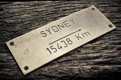 澳洲首都悉尼 库存图片