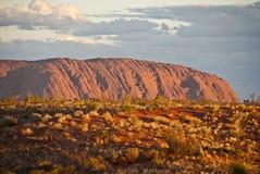 澳洲ayers北岩石领土 图库摄影
