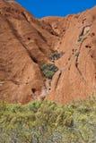 澳洲ayers北岩石领土 免版税库存图片