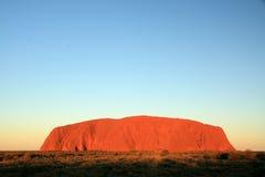 澳洲ayres岩石 免版税库存图片
