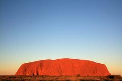 澳洲ayres岩石uluru 库存图片