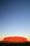 澳洲ayres岩石uluru 免版税库存照片