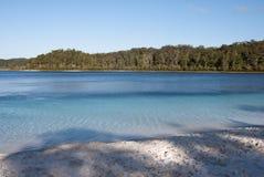 澳洲fraser海岛kenzie湖mc 免版税库存照片