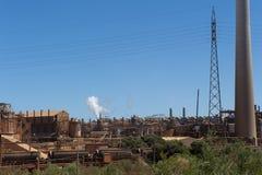 澳洲kwinana西部的发电站 免版税库存图片