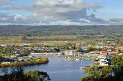 澳洲launceston塔斯马尼亚岛 免版税库存图片