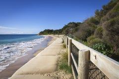 澳洲Portsea海滩 库存图片