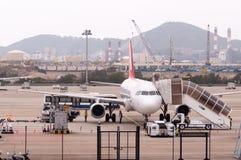 澳门国际机场 图库摄影