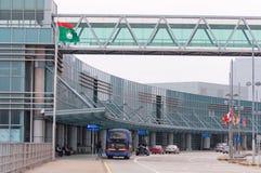 澳门国际机场 库存图片