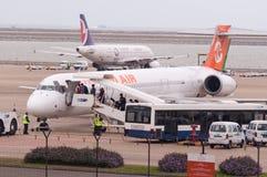 澳门国际机场 免版税图库摄影