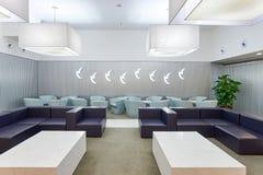 澳门航空休息室 免版税图库摄影